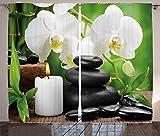 ABAKUHAUS Benessere Tenda, Zen Caldo Massaggio Pietre con Orchidea Candela e Natura Magnif...