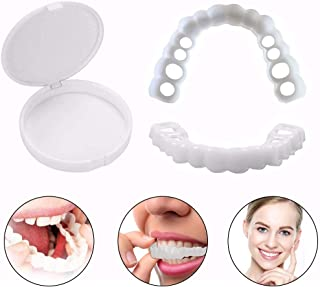YXT Carillas Dientes Nuevo Snap on Instant Smile Flex se