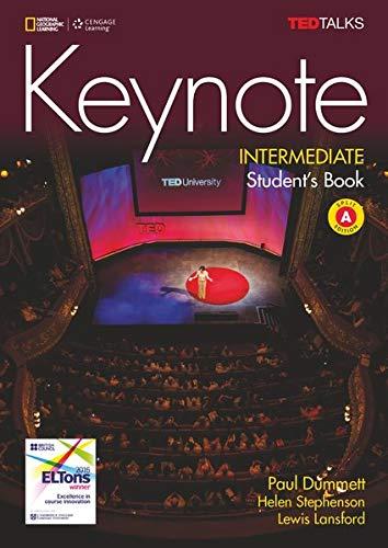 Keynote - B1.2/B2.1: Intermediate: Student's Book (Split Edition A) + DVD - Unit 1-6