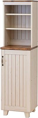 クロシオ 食器棚 ホワイト 幅40cm カントリー 収納 家具 キャビネット 036384