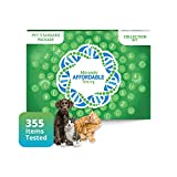 5Strands Pet Standard Package - Test 255 Food Ingredients & 100 Environmental Items - Intolerance Allergy Sensitivity At Home Collection Kit, Cat & Dog, Hair Analysis, Holistic Health Treat Supplement