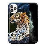 Coque de protection pour iPhone 12 Mini, motif guépard sauvage AS033 - Coque de protection...