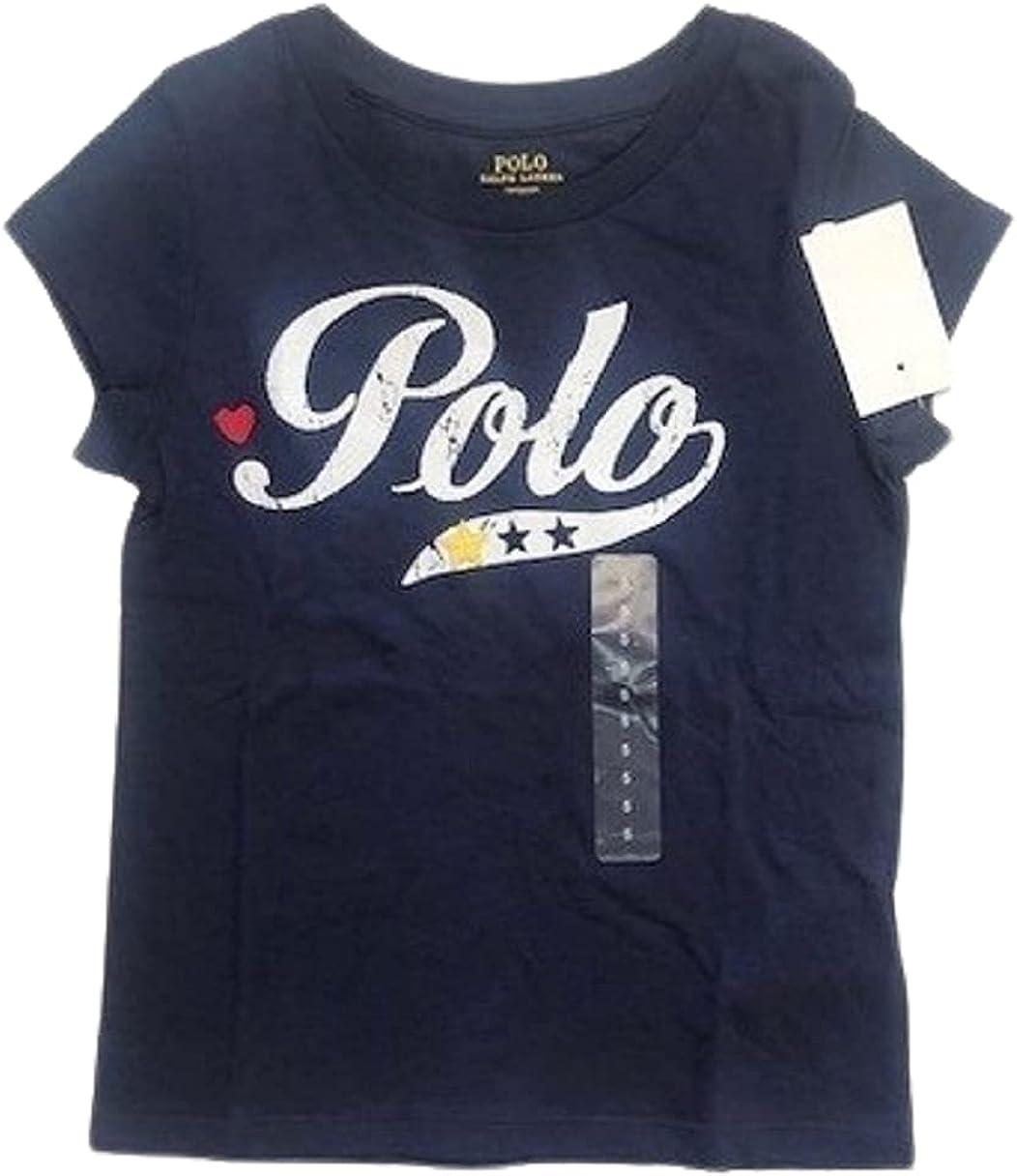 Polo Ralph Lauren Navy Boys Short Sleeve Polo Logo, US 6