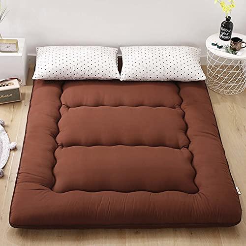 BeAUZQ Colchón Tatami Plegable Colchón de Dormir Antideslizante Individual Doble Adecuado para Dormitorio de Estudiantes Estera de Cama Familiar,A7,135 * 200