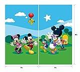 Gardine/Vorhang FCS xl 4307 Kinderzimmer Disney Mickey Mouse - 3