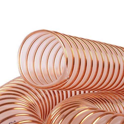 60 mm Pelletschlauch 2 Meter | Fallschlauch | Abbrandschlauch | von silos24 (2m)