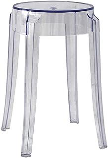 Agreable CKH Tabouret En Plastique Transparent Couleur épaississement Acrylique  Dinant La Chaise