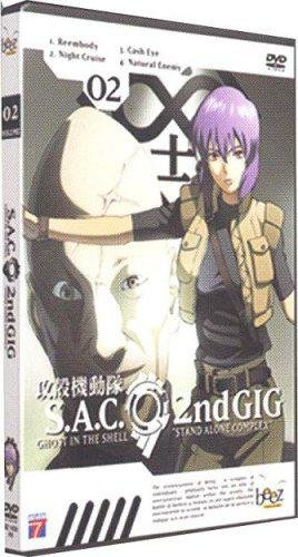 Ghost in The Shell : Stand Alone Complex, 2Nd Gig, Vol. 2