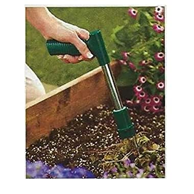 Trenton Gifts Quick Effective Short- Handled Easy Weed Grabber | Easily Remove Weeds Down To The Root | By