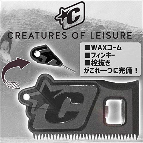 CREATURES OF LEISURE(クリエイチャー) Wax Comb ワックスコーム ワックススクレーパー 栓抜き フィンキー
