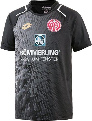 Lotto Kinder FSV Mainz 05 2017/2018 Auswärtstrikot, schwarz, XL-164/176