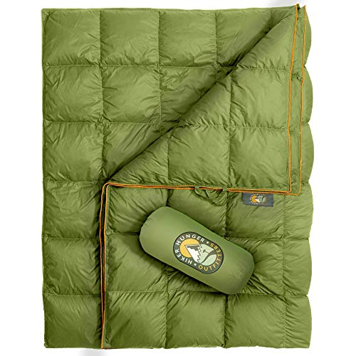 Hiker Hunger Outfitters Extra Large Double Insulated Outdoor Camping Blanket