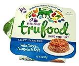 Wellness Trufood Tasty Pairings Natural Grain Free Wet Raw Dog Food, Chicken, Pumpkin & Beef, 5-Ounce Cup (Pack Of 24)