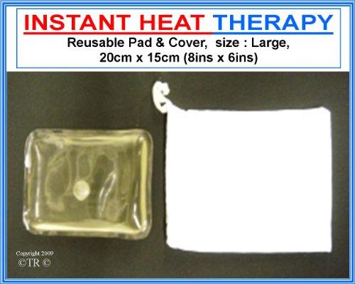 Proline Reusable Instant Heat Pad Black Large