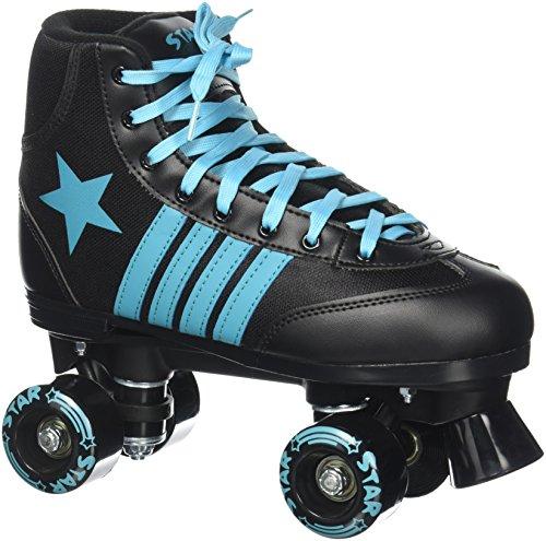 Epic Skates Star Hydra Indoor/Outdoor Classic High-Top Quad Roller Skates