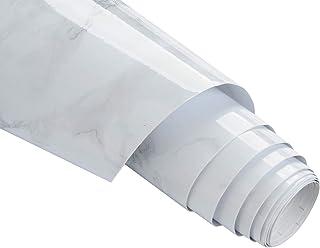 大理石シール 40x400cm iThird 壁紙シール カッティングシート リメイクシート 光沢があり インテリアシール 模様替え テーブル/家具/台所/キッチン用 DIYリフォーム はがせる 防水/防カビ/防汚 高級感 グレー 12ヶ月保証