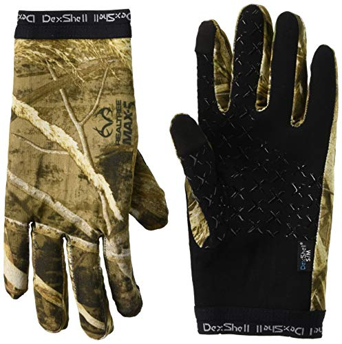 Dexshell DryLite Handschuhe Realtree Max-5, wasserfest, S/M