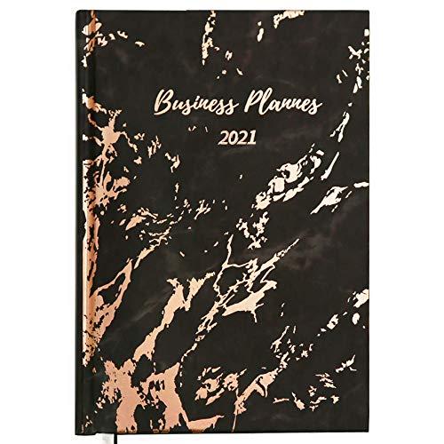 KASZOO Kalender 2021 A5,Terminkalender und Wochenkalender zum Planen und Organisieren - Kalender,fester Einband, 21,6 x 15,4 cm