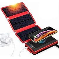 Powerbest Outdoor Solar Cellphone 20000mAh Portable Waterproof Power Bank