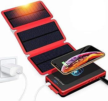 Powerbest Outdoor Solar 20000mAh Portable Waterproof Power Bank