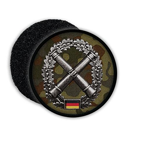 Copytec Patch BW Artillerie Tarn Art Artl Artillerie ISAF Barettabzeichen Aufnäher Bundeswehr Wappen Emblem #20856