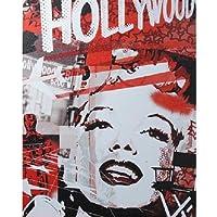 【ブリキ看板】Marilyn Monroe/マリリン・モンロー Hollywood [並行輸入品]
