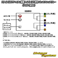 フリップフロップリレー タイプD マイナス制御(2C)