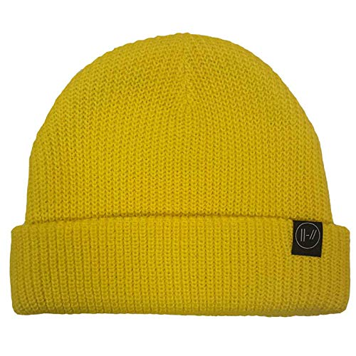 Rock Off Twenty One Pilots Sombrero De Beanie Double Bars Band Logo Nuevo Oficial