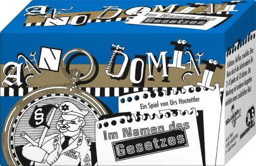 ABACUSSPIELE 09031 - Anno Domini - Im Namen des Gesetzes, Quizspiel, Schätzspiel, Kartenspiel