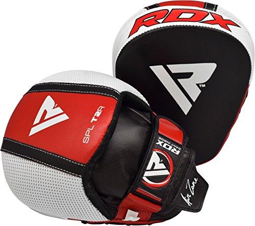 RDX Manoplas Boxeo Paos Muay Thai Kick Boxing Artes Marciales Patada Pad...