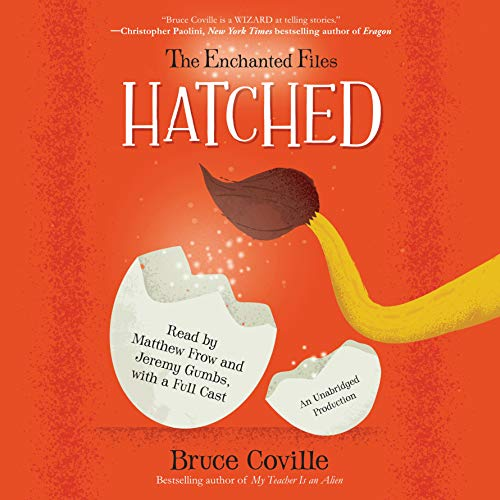 The Enchanted Files: Hatched cover art