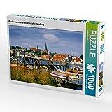 CALVENDO Puzzle Fischerhafen und Stadtansicht Flensburg
