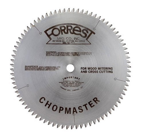 Forrest-Chopmaster 10-Inch ATBR Miter and Radial Saw Blade