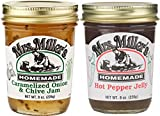Hot Pepper Jelly is great for as a topper for crackers or bread (add cream cheese to either for additional balance and flavor), Use as a Marinade or Sauce for Meats and Stews, Pair with Brie or Sharp or Mild Cheeses for a unique and satisfying Snack....