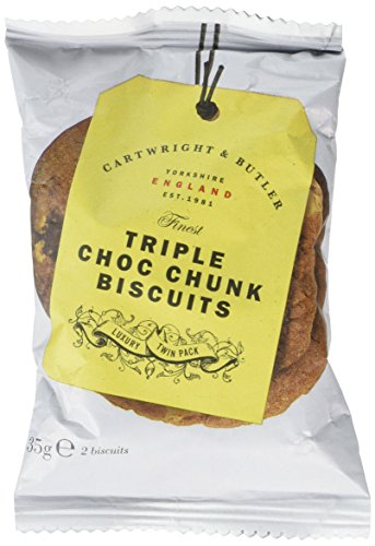 Photo of Cartwright & Butler Triple Chocolate Chunk Biscuits Pack of 100