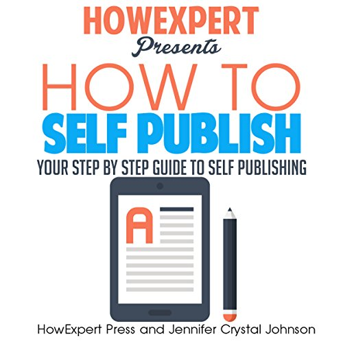 How to Self Publish audiobook cover art