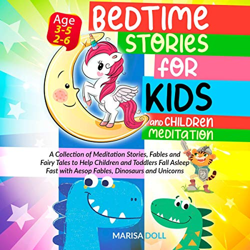 Bedtime Stories for Kids and Children Meditation cover art