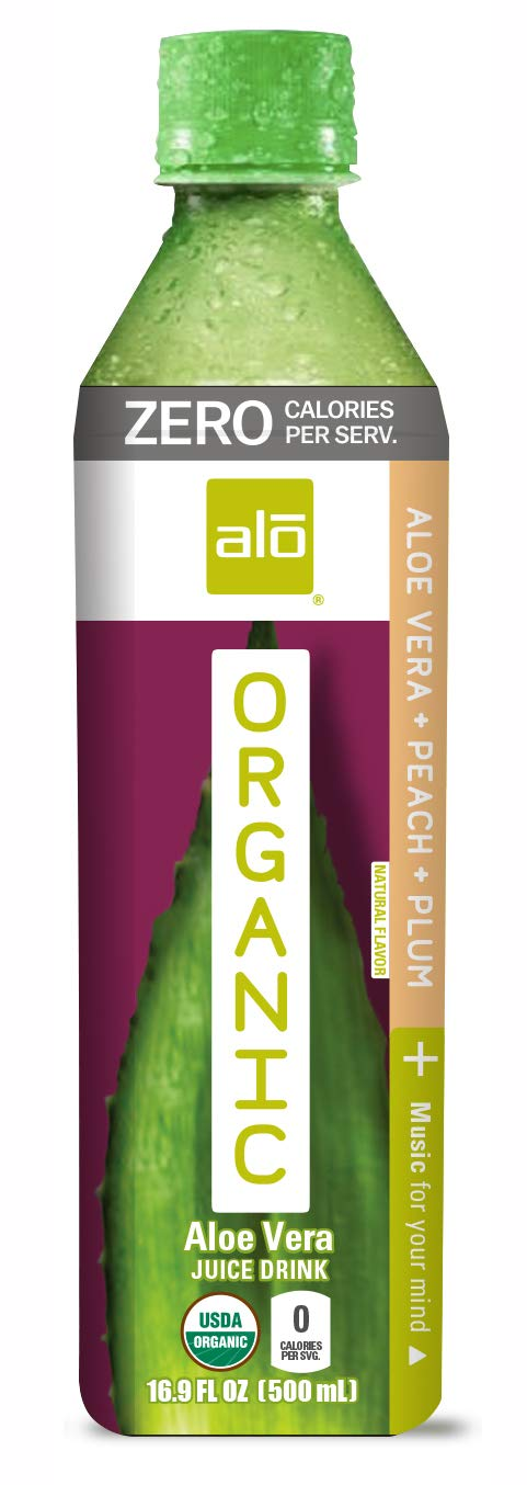 specialty Product shop ALO Organic ZERO Peach + Plum Flavor FL Pack 12 16.9