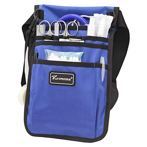 Tuhaoge Nurse Storage Bag Practical Waist Bag Nurse Pocket Bag Belt Organizer Pouch.