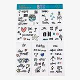 BTS Cute Decal Aufkleber Hand Konto Aufkleber für Gepäck Laptop Notebook Kühlschrank Auto Styling für Geschenk-Alan Graham ScottVF