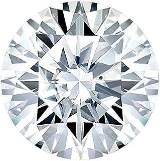 0.30-0.75Ct. Real European cut Round Moissanite Loose diamond Forever Shine Colourless Making/Pendant/Earrings/Rings