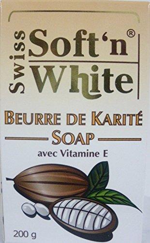 Swiss Soft n White Shea Butter Soap 200g by swiss Soft 'n' white