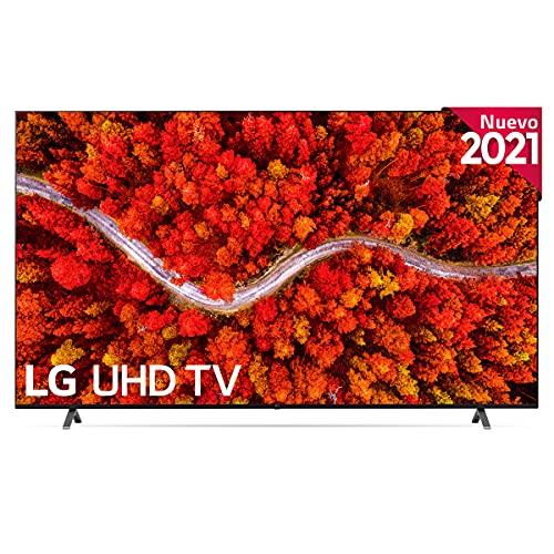 LG - Televisión LG 4K UHD 80006LA 82' (207 cm), SmartTV webOS 6.0, Procesador de Imagen 4k Quad Core α7 Gen4, Gaming TV,...