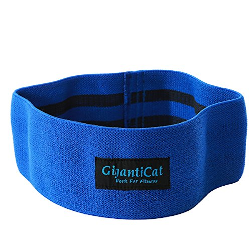 Hip Resistance Band Slingshot Band Sliding Down Prevent Idea for Hip and Glute Activation Strength in Weightlifting and Crossfit Training Blue New Size Scale Blue L