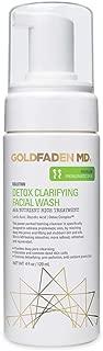 Goldfaden MD Detox Clarifying Facial Foaming AHA Cleanser   Purifying w/Glycolic Acid, Lactic Acid & our Detox ComplexTM   4 fl. oz.