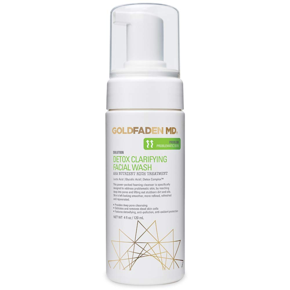 GOLDFADEN MD Limited Special Price Detox Ranking TOP1 Clarifying Foaming Facial AHA Cleanser