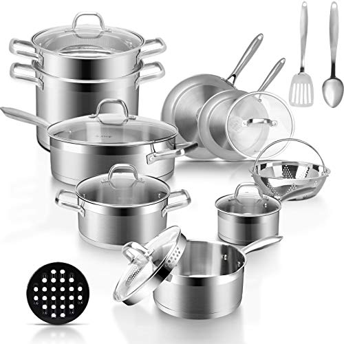 Duxtop Professional Stainless Steel Pots and Pans...