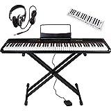 Artesia 電子ピアノ アマゾンオリジナル バリューセット 88鍵 PERFORMER/BK ブラック (サスティンペダル/スタンド/ヘッドフォン/鍵盤デザインクロス付属)