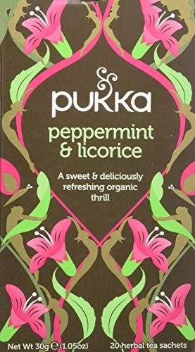 Pukka Peppermint Licorice - Tisana 20 filtri