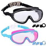 Best Swim Goggles - Yizerel 2 Pack Kids Swim Goggles, Swimming Glasses Review